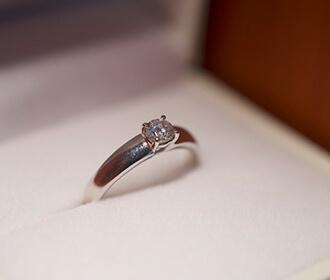 手作り婚約指輪の実績写真1