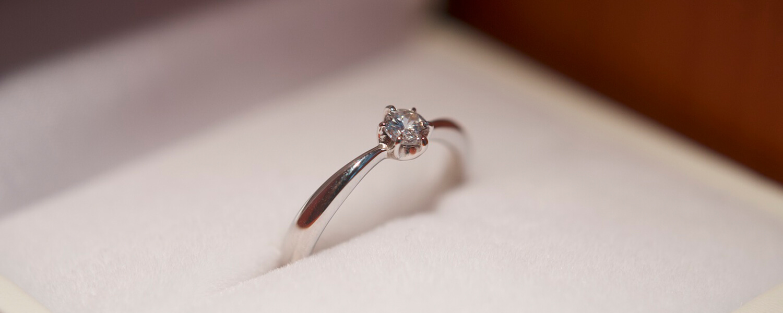 手作り婚約指輪プロポーズコースページのTOP画像