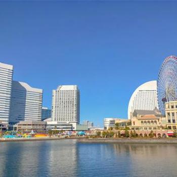 桜木町の風景写真