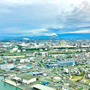 新潟市内の写真