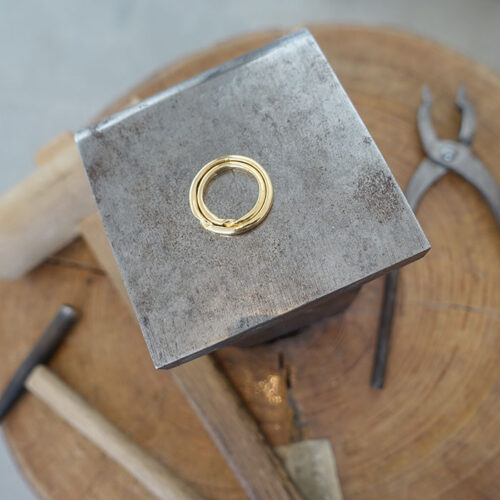 お客様の指輪制作実績2枚⽬