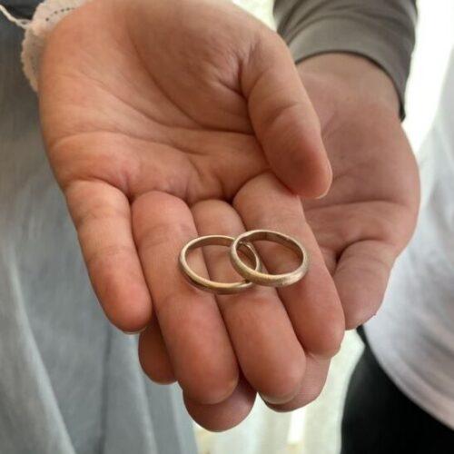 お客様の指輪制作実績3枚目