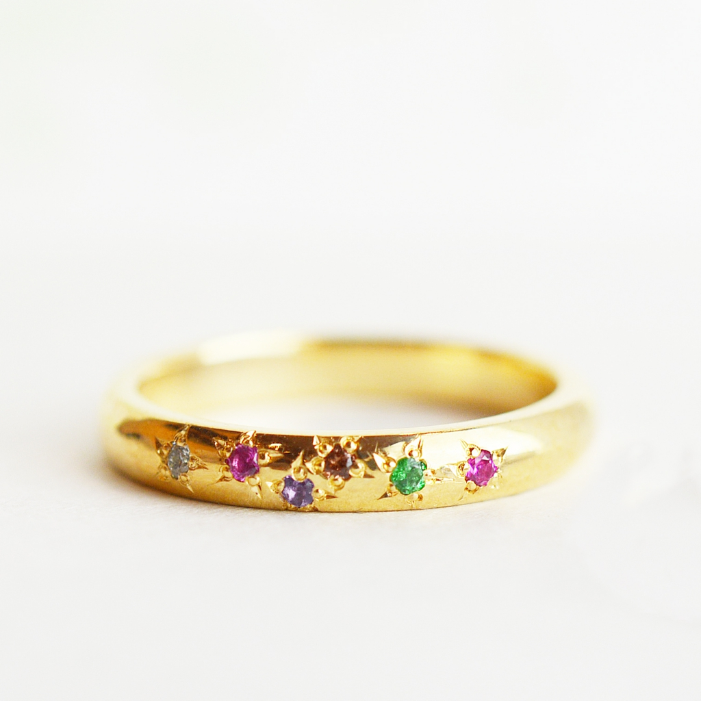 こだわりのデザインの表現の仕方@手作り結婚指輪 工房スミス札幌店