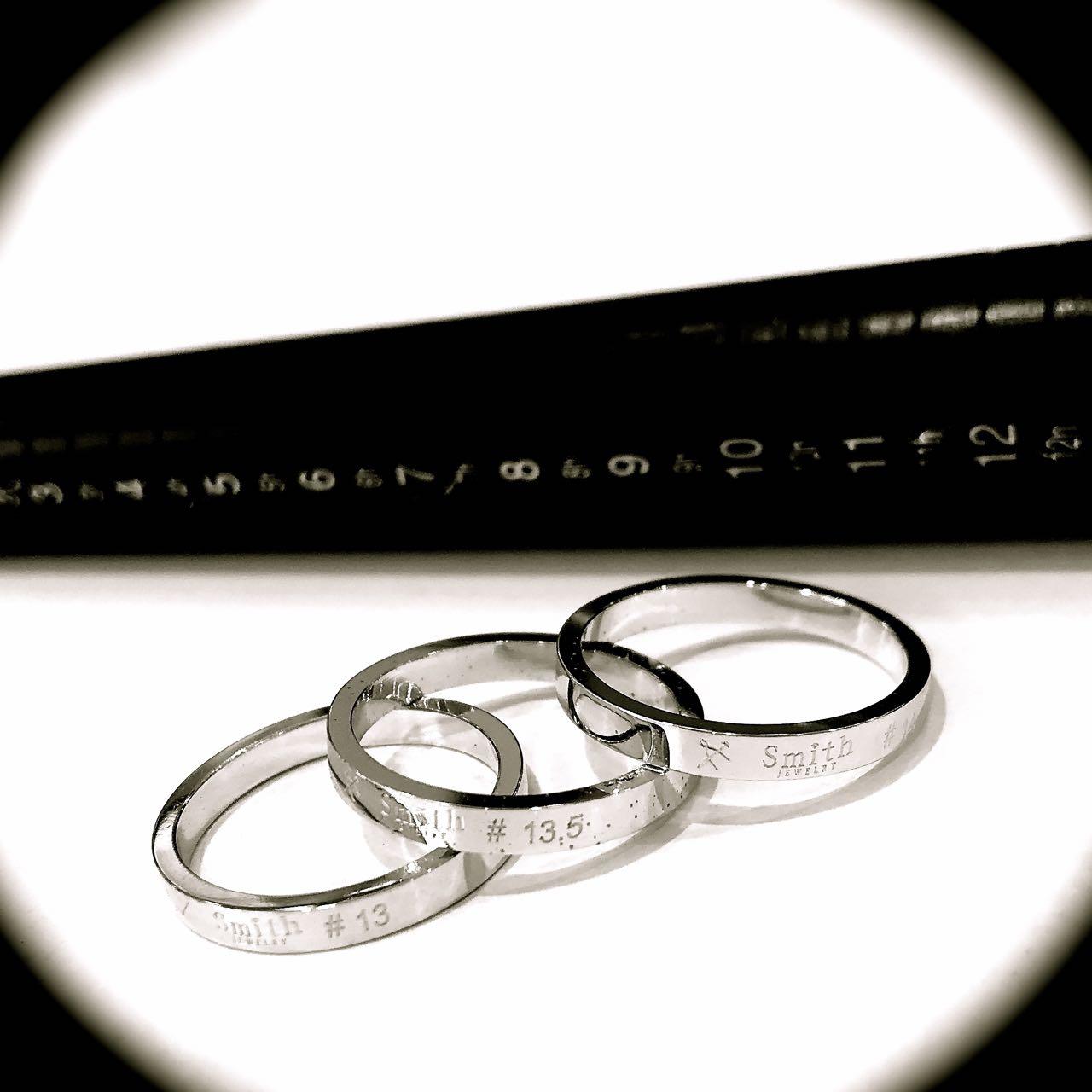 貴方の指のサイズとは@手作り結婚指輪工房スミス札幌店