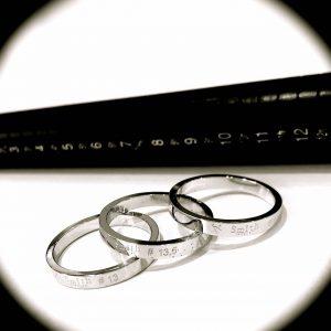 あなたにぴったりのサイズを@手作り結婚指輪 工房スミス札幌店