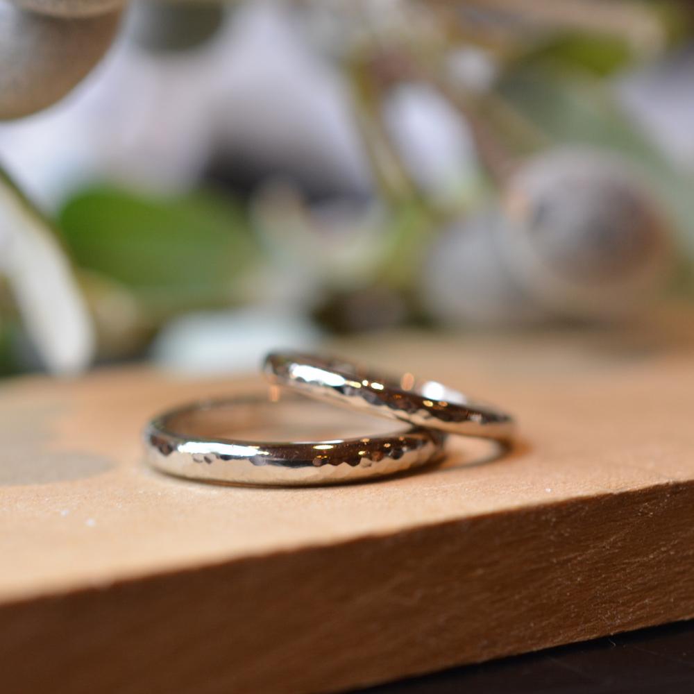 指輪のお手入れ