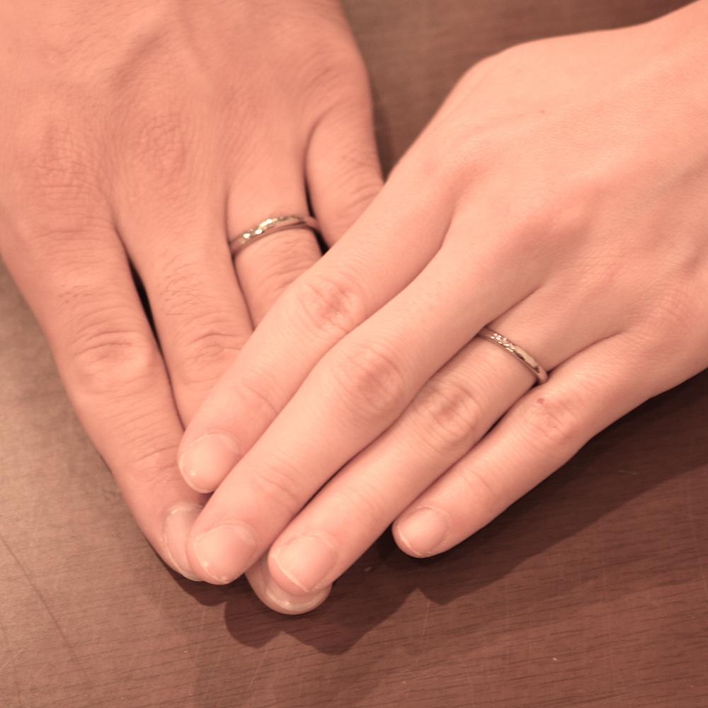 左手薬指指輪
