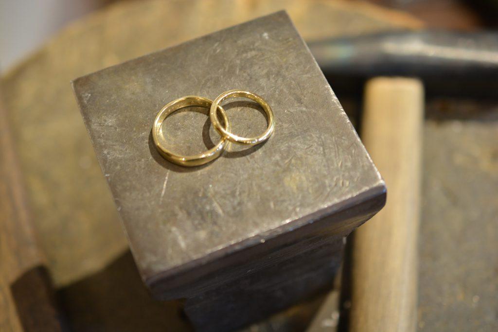 手作り結婚指輪 お客様の作品