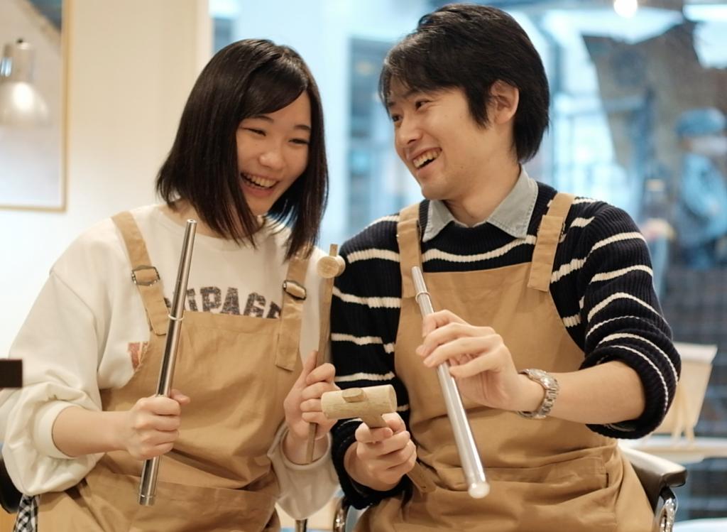 💍世界で一つの手作り結婚指輪@札幌店