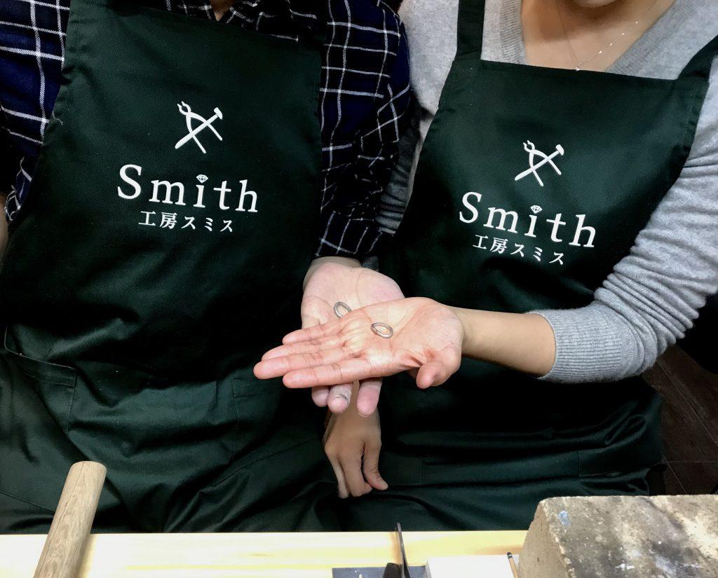 🏵珠玉の手作り指輪@手作り結婚指輪 工房スミス札幌店