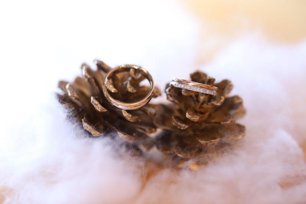 手作り結婚指