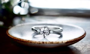 エンゲージリングも手作りで。@手作り結婚指輪 工房スミス札幌店