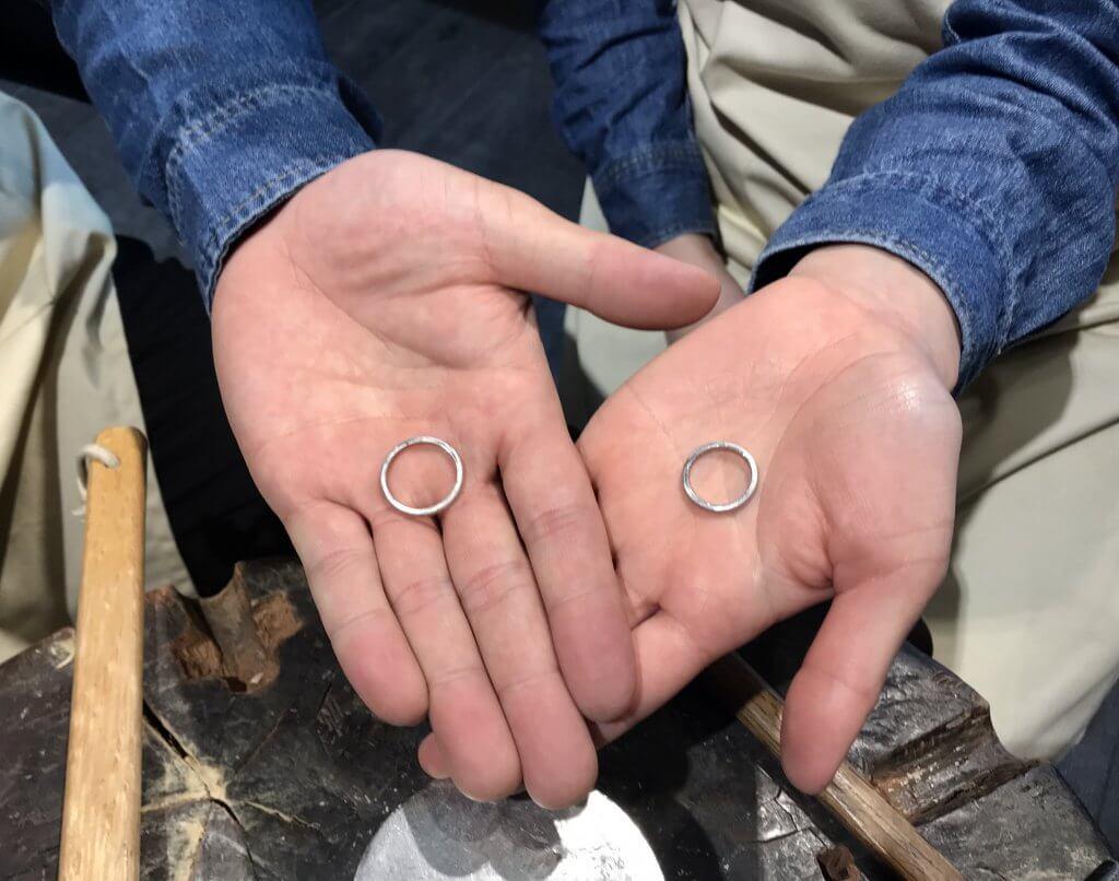 💐◯周年記念指輪@手作り結婚指輪 工房スミス札幌店