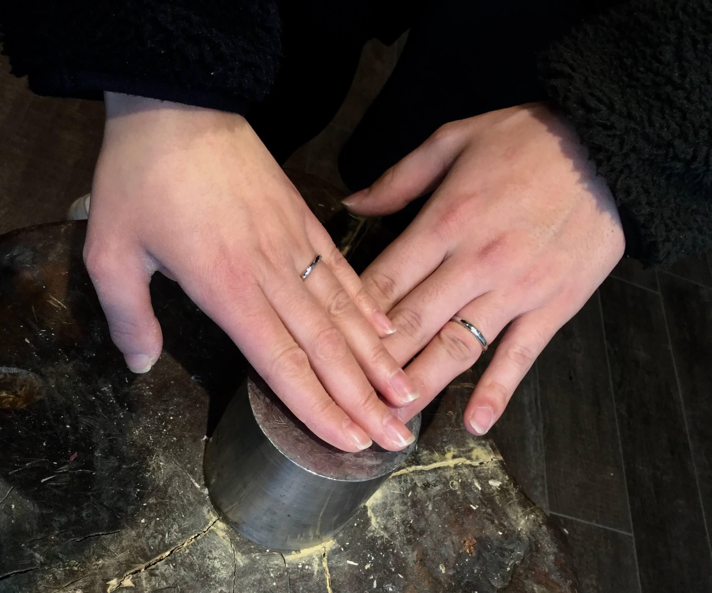 自分にぴったりのサイズは?@手作り結婚指輪 工房スミス札幌店