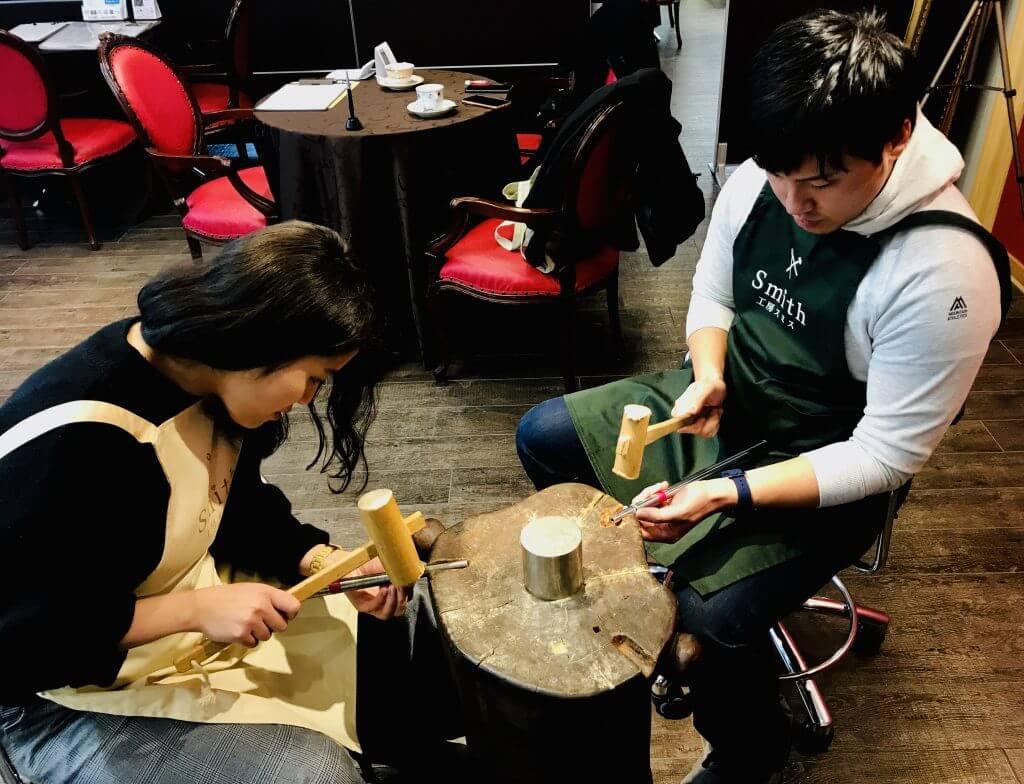 👀工房見学お待ちしております!!@手作り結婚指輪 工房スミス札幌店