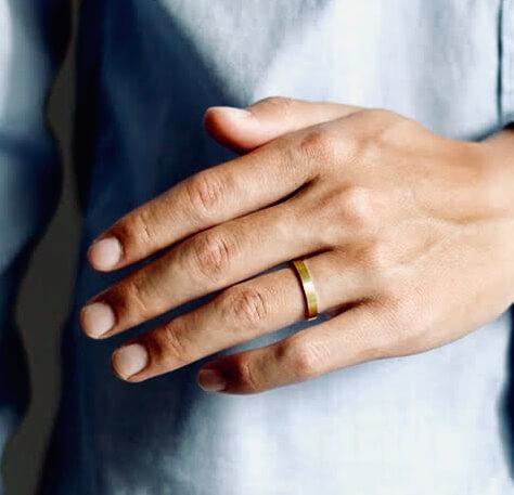 👨男性向けの結婚指輪@手作り結婚指輪 工房スミス札幌店