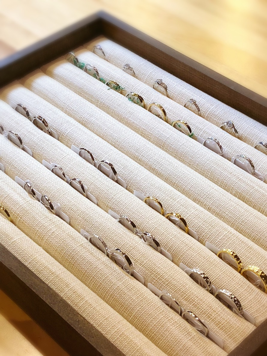 デザインが決まらなくても大丈夫!@手作り結婚指輪 工房スミス札幌店