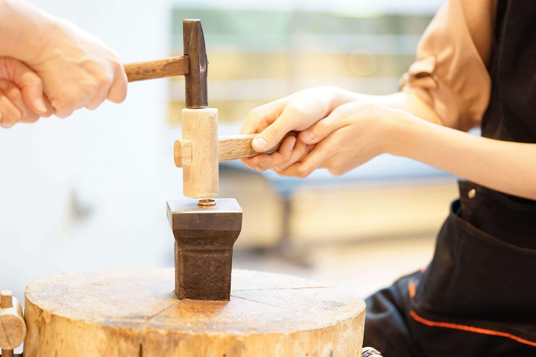 いつもとは違う時間を体験@手作り結婚指輪 工房スミス札幌店