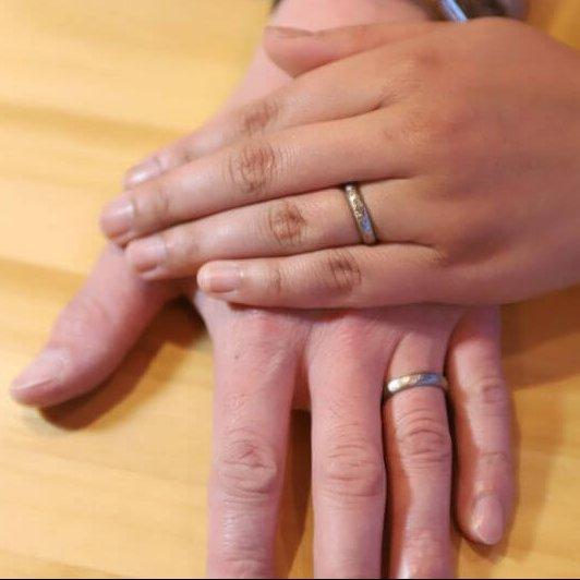 記念の日には指輪にも特別を@手作り結婚指輪 工房スミス札幌店