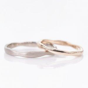 手作り結婚指輪 作品例