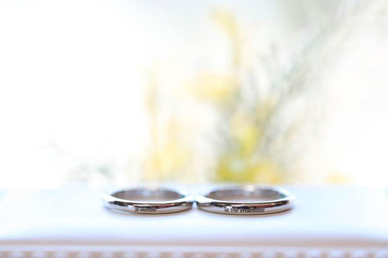 結婚指輪のご納品💍✨