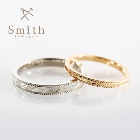 ローリエ(月桂樹):スパークルリング:結婚指輪