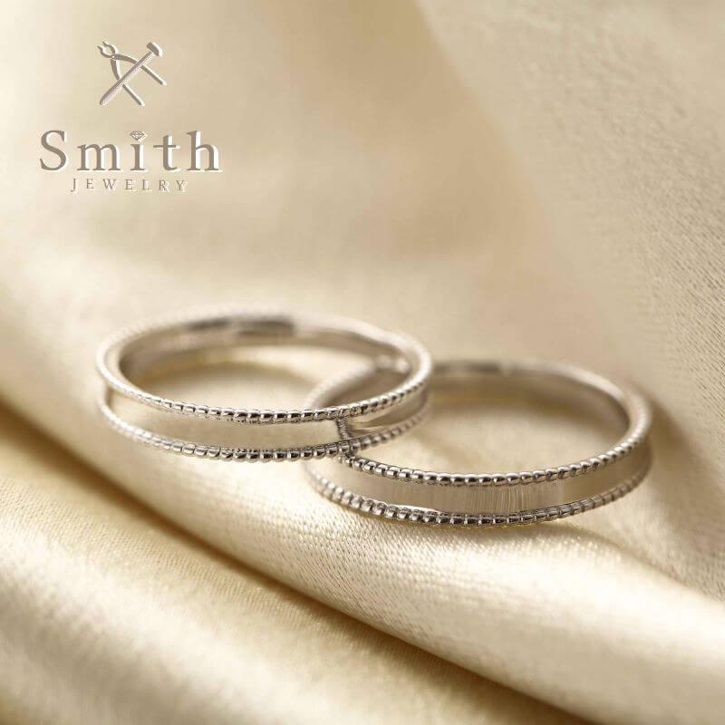 ミルグレインリング:結婚指輪