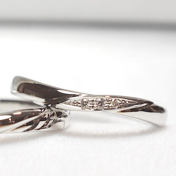ダイヤモンド、プラチナ、結婚指輪
