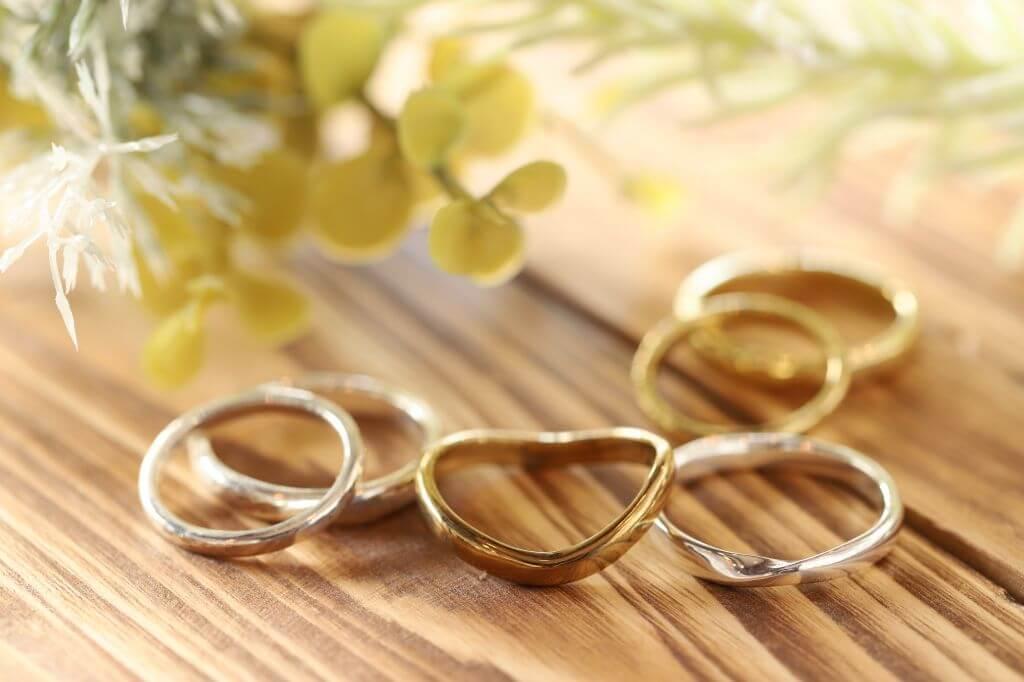 結婚指輪選びのポイント・アームの形とリングの幅💍