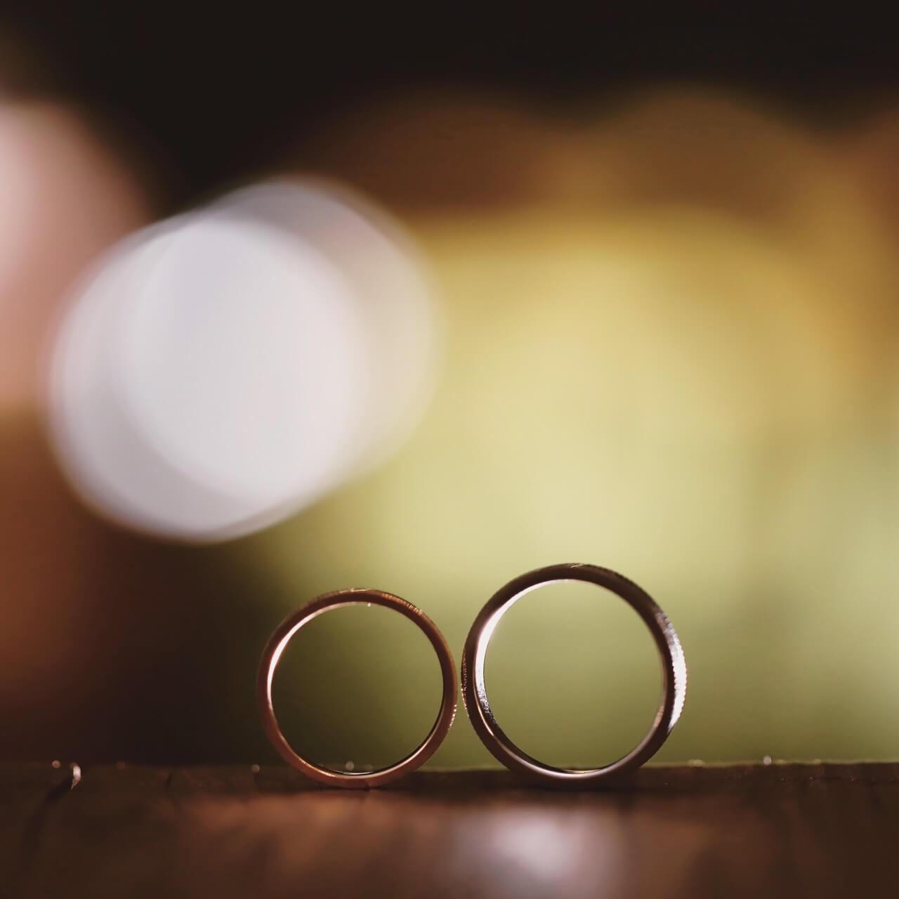 絆を象徴したデザイン@手作り結婚指輪 工房スミス札幌店