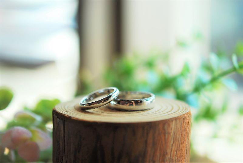結婚指輪・新品仕上げ・工房スミス