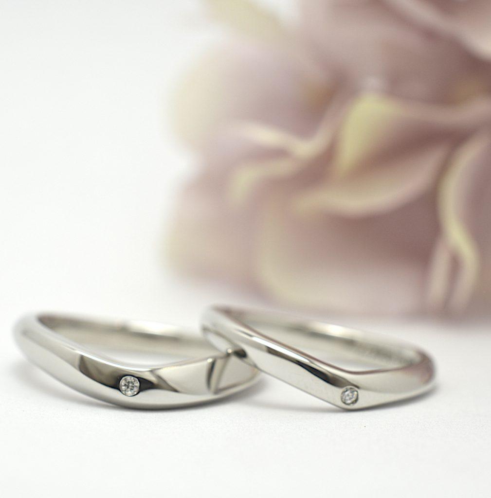 手作り結婚指輪 お客様の作品例 ワックス工法