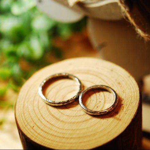 キラキラハンマー・結婚指輪・工房スミス