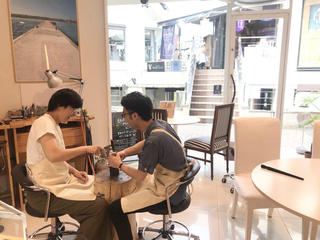 開放的でフォトジェニックな横浜元町店