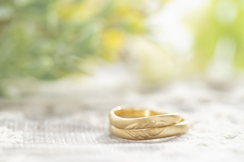 ふたりで一つのデザイン指輪・工房スミス