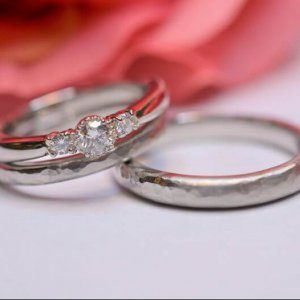 重なる幸せ@手作り結婚指輪 工房スミス札幌店