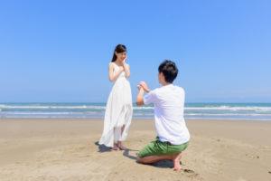 プロポーズする際に片ひざをつく理由