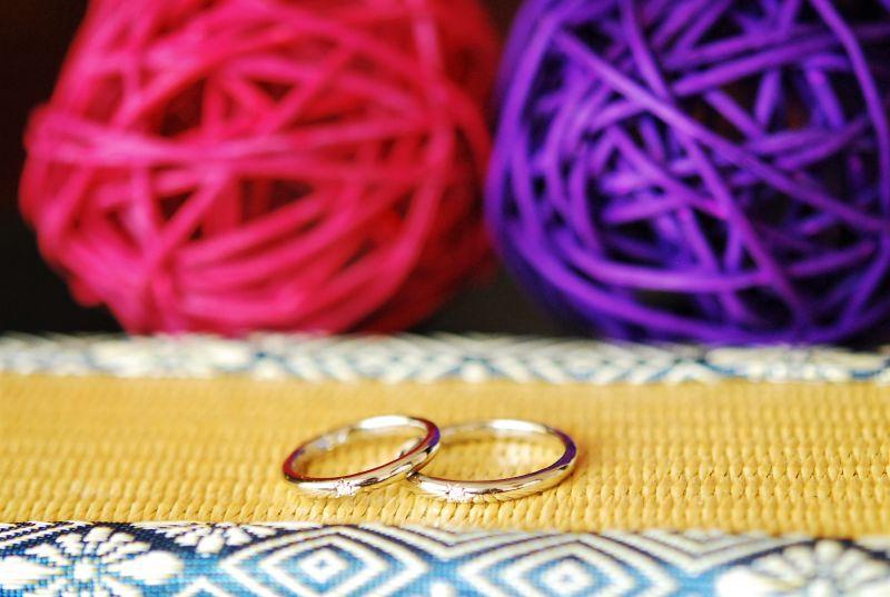 手作り結婚指輪・工房スミス・持ち帰り可能