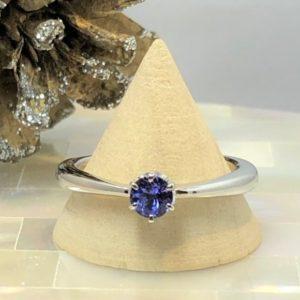 タンザナイト・婚約指輪・サプライズプロポーズ・手作り指輪・工房スミス