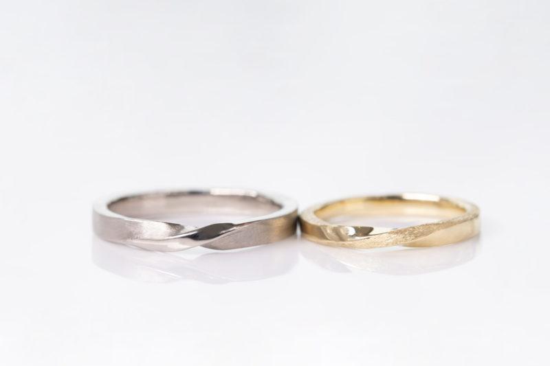 スターダスト仕上げ・結婚指輪・工房スミス