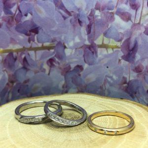工房スミス・ワックス工法・結婚指輪・婚約指輪
