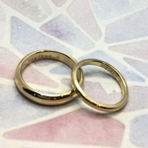 彫金工法・手作り結婚指輪・工房スミス
