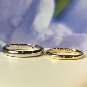 工房スミス・WAX工法・手作り結婚指輪