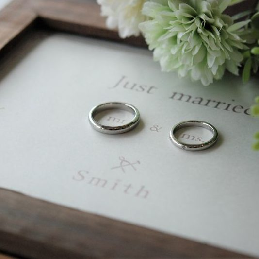 工房スミス・彫金工法・手作り結婚指輪