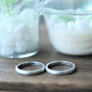 結婚指輪・誕生石