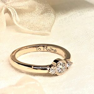WAX工法・手作り婚約指輪・工房スミス