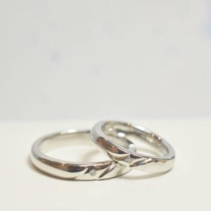 ライン加工@手作り結婚指輪 工房スミス札幌店