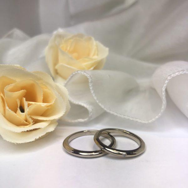 《外苑前店》手作り結婚指輪 Y様・A様