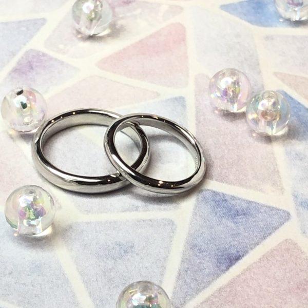 《外苑前店》手作り結婚指輪 K様・A様