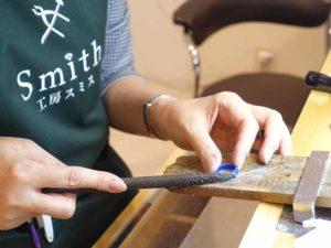 工房スミスのワックス工法
